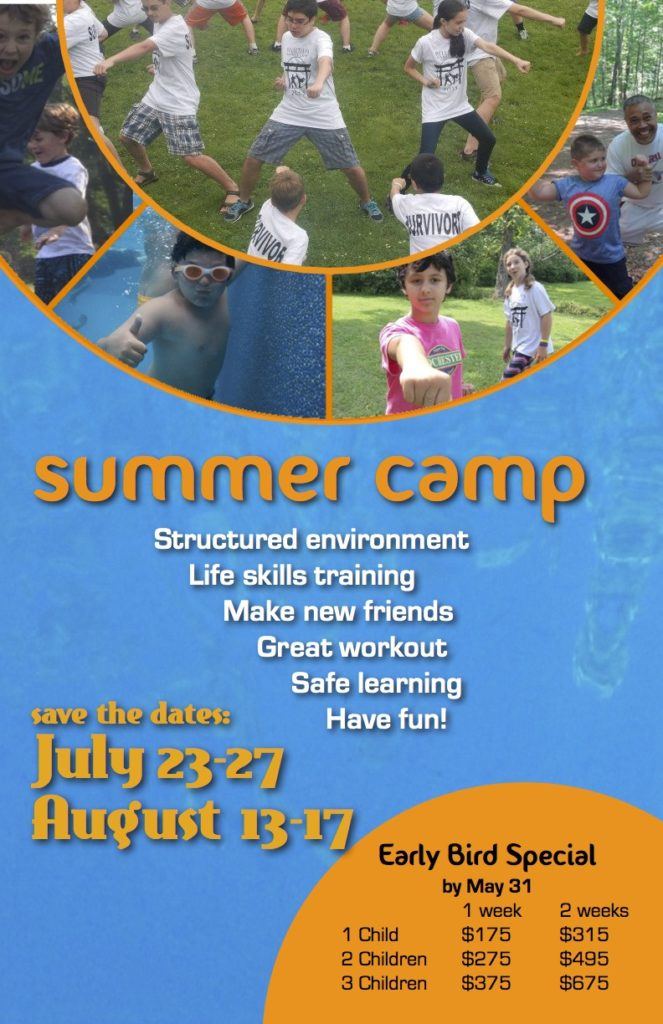 2018 Summer camp poster